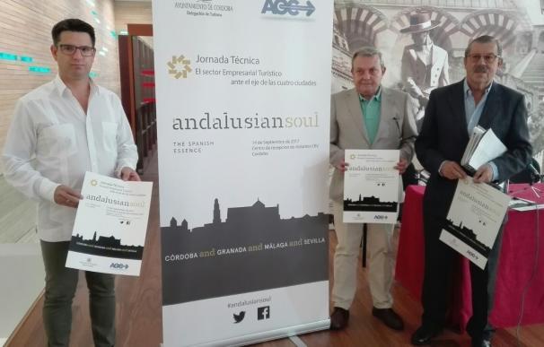 Córdoba, Granada, Málaga y Sevilla abrirán en la capital cordobesa la acción de la Andalusian Soul
