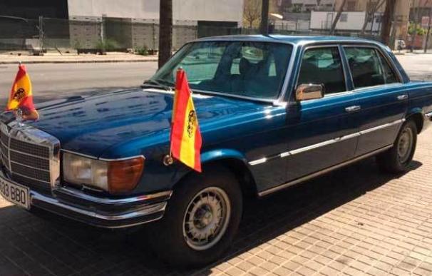 Sale a subasta el Mercedes blindado que el Rey Juan Carlos utilizó a finales de los 70