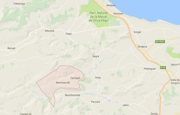 Muere un excursionista de 57 años afectado de dolencia cardiaca en el Barranc del Infern