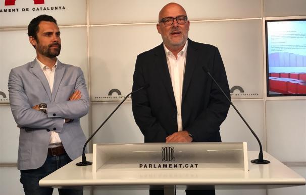 """JxSí anuncia que tramitarán """"en breve"""" la ley del referéndum pero no descarta otra vía que garantice el 1-O"""