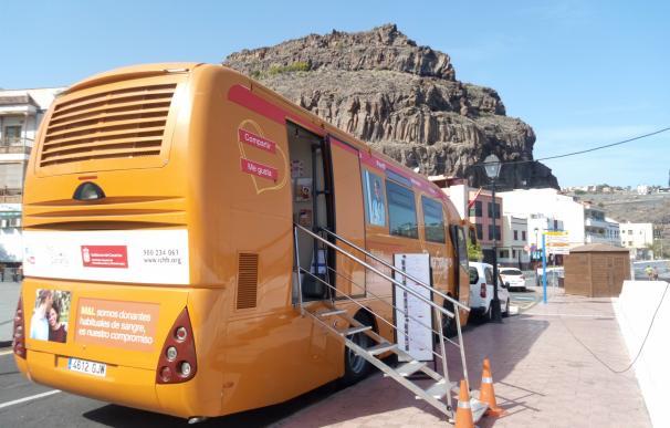 El ICHH promueve la donación de sangre en Gran Canaria, Fuerteventura, Tenerife y La Gomera