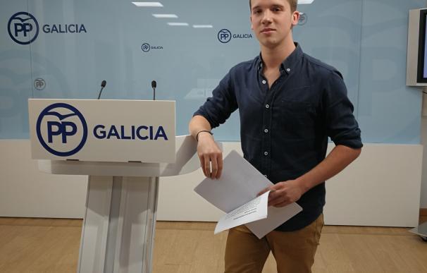 """El joven Adrián Pardo busca """"impulsar un proceso de renovación"""" con su candidatura para presidir Novas Xeracións"""