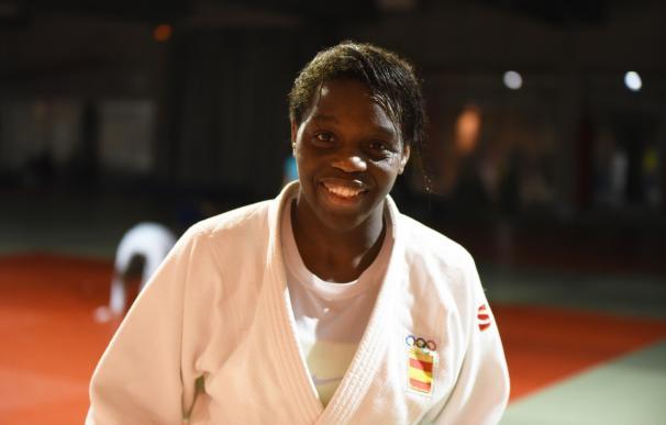 La judoca española María Bernabéu, bronce en el Mundial de Budapest