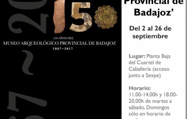 Una exposición sobre el Museo Arqueológico Provincial de Badajoz acerca a Olivenza una visión de la Historia pacense