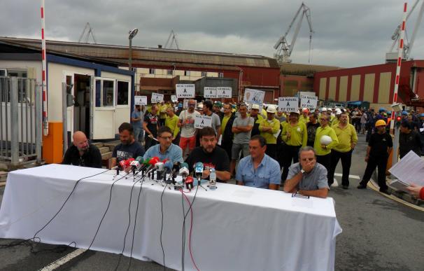 (Amp.) El comité de La Naval exige a Gobierno Vasco que tome su control