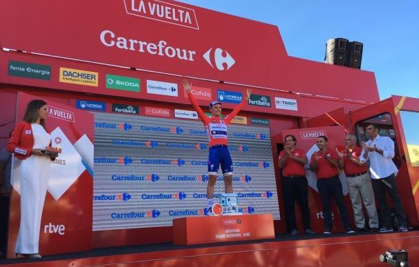 El belga Yves Lampaert (Quick-Step) se lleva la segunda etapa y se coloca como nuevo líder