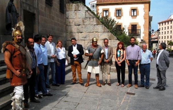 La ciudad de Soria enciende de manera permanente la llama del pebetero de Numancia junto a la Diputación