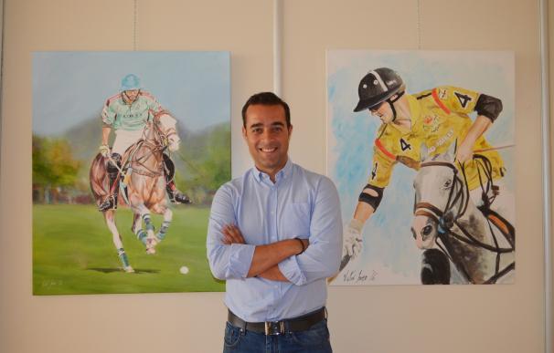 El algecireño Víctor Jerez pintará en directo en la final de la Copa de Oro Santa María Polo Club