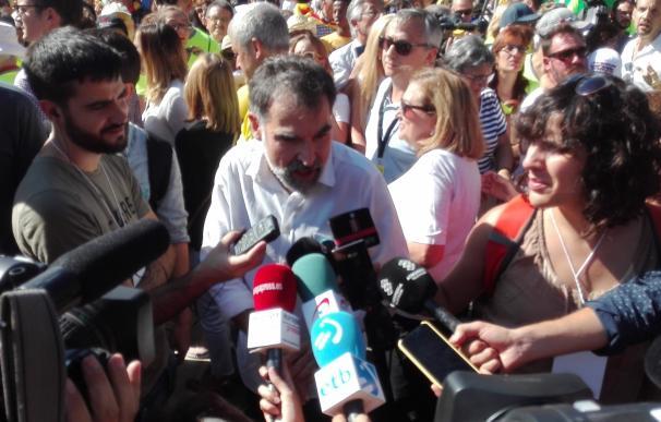 """Cuixart (Òmnium) advierte al Estado de que """"no puede robar el derecho a voto"""" de los catalanes"""