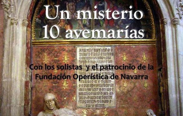 La Catedral de Sigüenza acoge este martes un concierto lírico benéfico a cargo de la Fundación Operística de Navarra