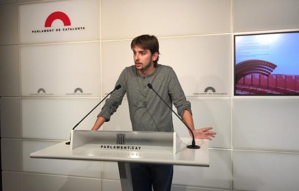 Giner (Podem) pide votar a favor de la ley del referéndum si JxSí y CUP permiten enmendarla