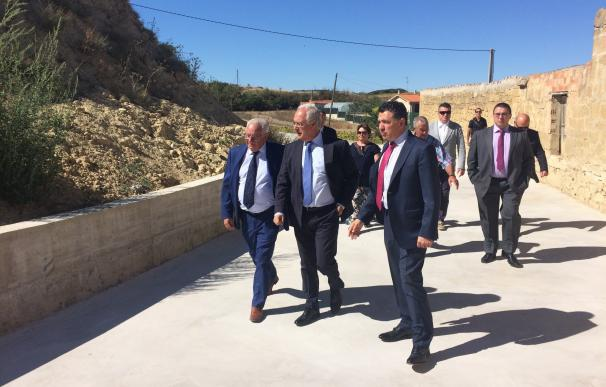 Ceniceros subraya el compromiso del Gobierno con los pueblos más pequeños para mejorar las infraestructuras y el patrimo