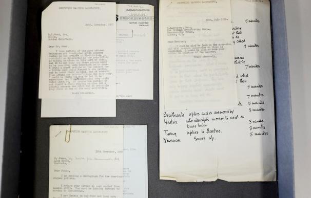 Hallan 148 cartas inéditas de Alan Turing en un almacén de la Universidad de Manchester