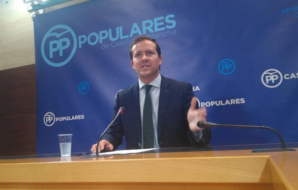 El PP reprocha que las Cortes no hagan un Pleno monográfico de presupuestos y se incluya la LOTAU y el techo de gasto