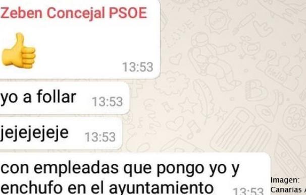 El PSOE suspende de militancia a Zebenzuí González por sus comentarios machistas