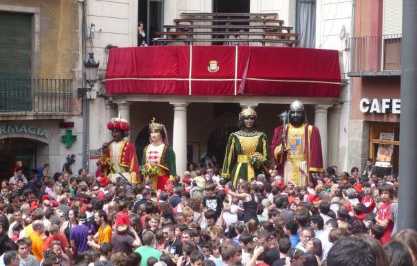 Berga (Barcelona) estudia celebrar la Patum si se proclama la independencia