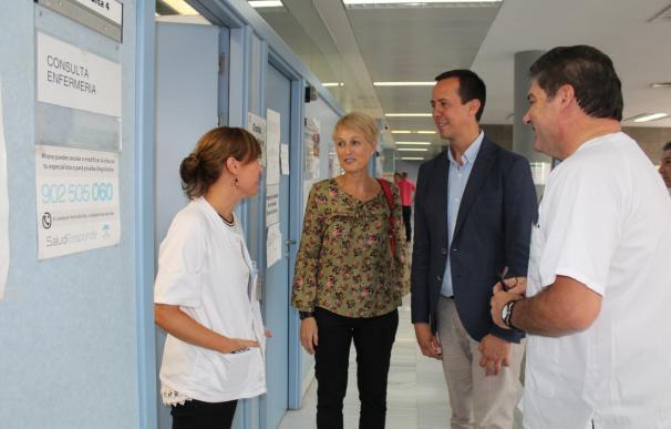 Los 21 centros de atención primaria de Almería capital atienden más de 660.000 consultas en el primer semestre