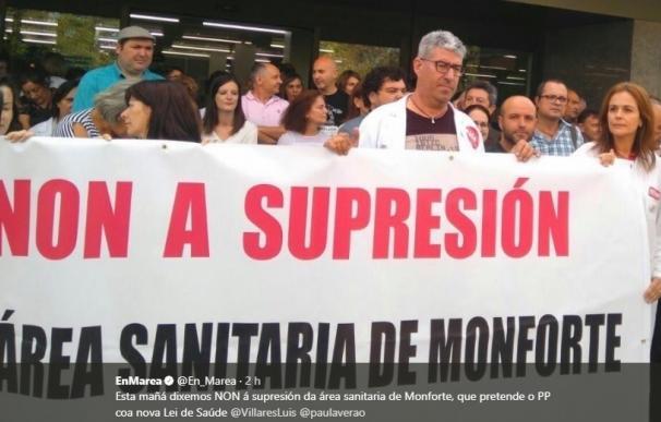 """En Marea y PSdeG reclaman la retirada de la reforma de la Ley de Salud por """"alejar"""" los servicios sanitarios"""
