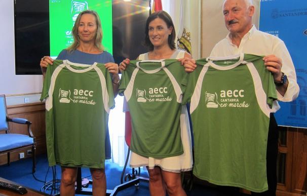 Consistorio y Racing animan a participar el 2 de septiembre en I Marcha contra el Cáncer de AECC en la ciudad