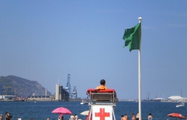 Todas las playas de Bizkaia permiten el baño libre, aunque en seis se pide precaución