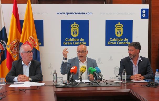 Morales se ratifica en el 99% de aguas depuradas en Gran Canaria y acusa al Gobierno de Canarias de mentir