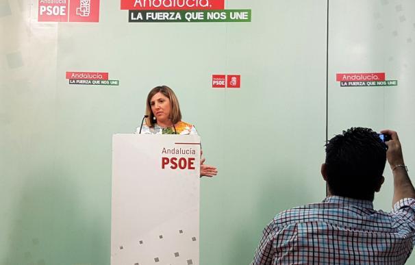 Irene García, proclamada de nuevo secretaria general del PSOE al ser la única en lograr los avales requeridos