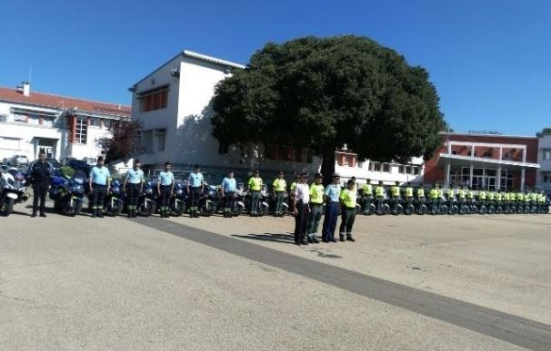 128 agentes de la Guardia Civil velarán por la seguridad en La Vuelta