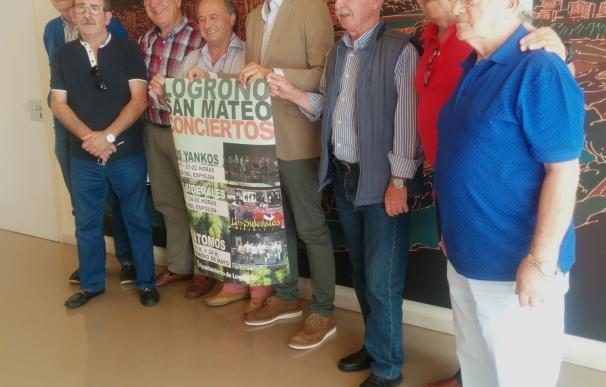 Los Yankos, Los Átomos y Los Siderales rememorarán las exitosas salas de fiestas logroñesas en los Sanmateos