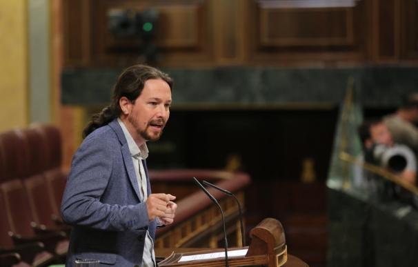"""Pablo Iglesias denuncia que en España va haber """"presos políticos"""" tras la detención del número dos de Junqueras"""