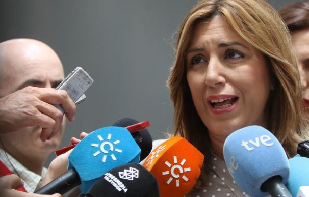 Susana Díaz expresa su dolor por la víctima mortal natural de Lanteira