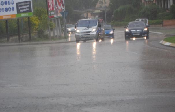 Corte total en el tramo de la M-506 a la altura de Fuenlabrada por las fuertes lluvias