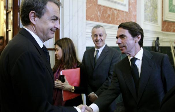El PP y el PSOE rechazan citar a Aznar y Zapatero en la comisión del rescate bancario del Congreso