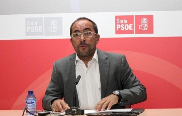 Luis Rey, único candidato a la secretaría general del PSOE en Soria, presenta un 46% de avales sobre el censo