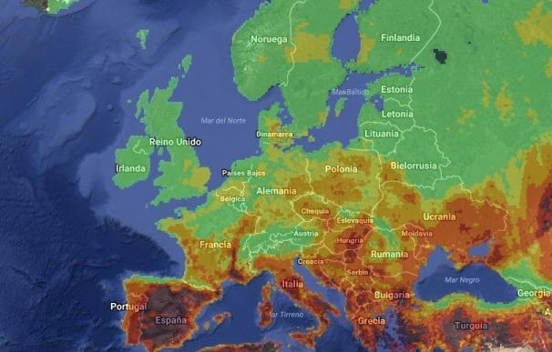 """La UE felicita a España por haber movilizado """"rápidamente"""" sus recursos a los incendios que asolan Portugal"""
