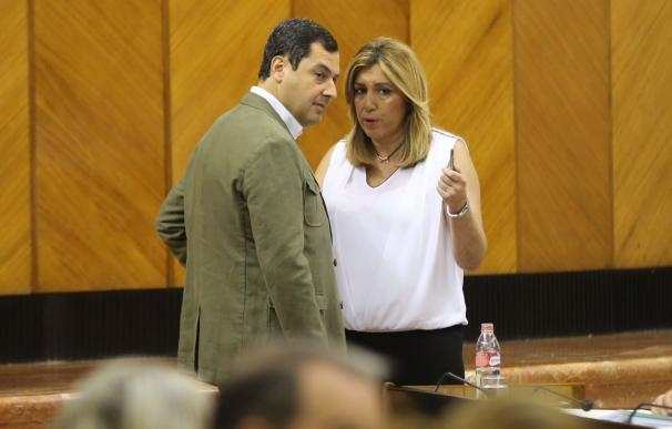 Susana Díaz aborda este jueves con agentes sociales la financiación autonómica y el lunes con los líderes políticos