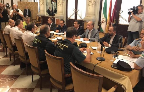 La junta local de seguridad de Málaga acuerda nuevas medidas y más presencia policial en la ciudad
