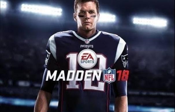 Tom Brady, imagen del videojuego Madden NFL 18 de EA Sports