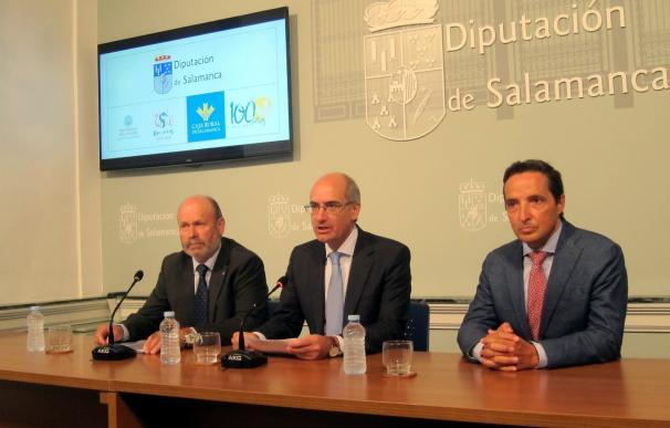 Diputación de Salamanca y Caja Rural invertirán 150.000 euros en proyectos de investigación aplicados al sector primario