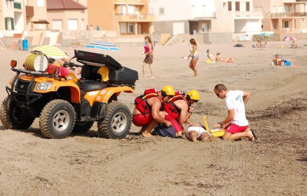 Disminuyen este verano los rescates y primeros auxilios de los socorristas del Plan Copla