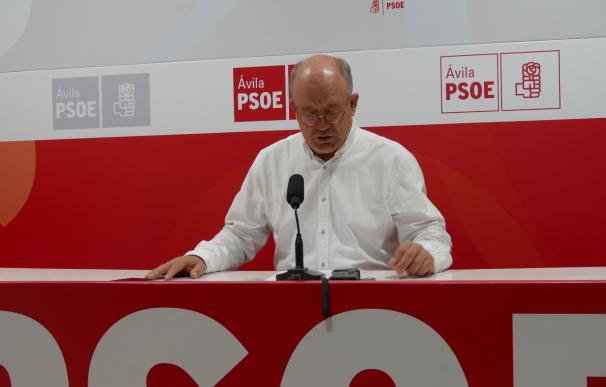 """El portavoz socialista en la Diputación de Ávila ofrece """"integrar"""" y """"unir"""" al PSOE abulense"""