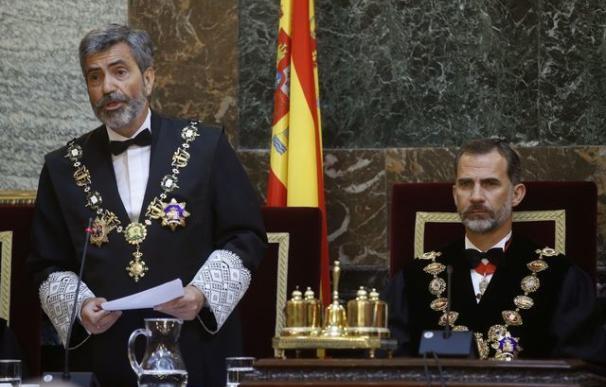 """Lesmes: """"La unidad de la nación española es un mandato jurídico directo para los jueces"""""""