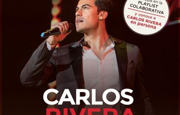 Carlos Rivera invita a sus fans a elegir las canciones del concierto de fin de gira en el WiZink Center de Madrid