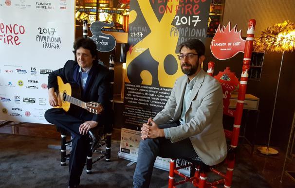 Cañizares y la Orquesta Sinfónica de Navarra abren Flamenco on Fire, festival que acoge Pamplona hasta el 27 de agosto