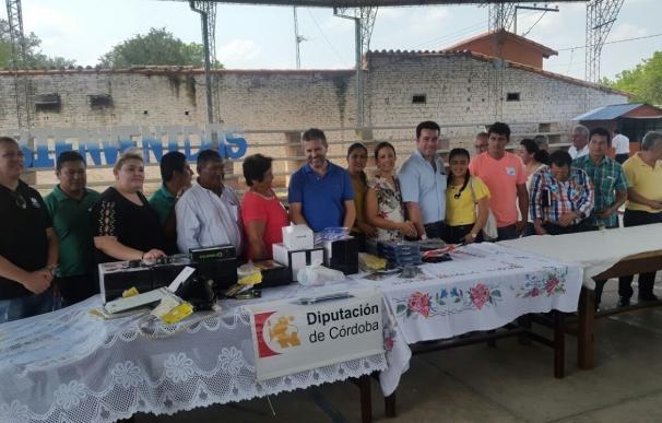 Una delegación de trabajo de Diputación conoce los proyectos de cooperación puestos en marcha en Bolivia