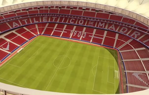 Así quedará el Wanda Metropolitano