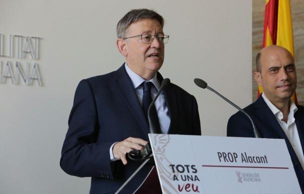 """Puig afirma que cuando el TSJCV decida sobre el """"fondo"""" del plurilingüismo se aplicarán los cambios que sean necesarios"""