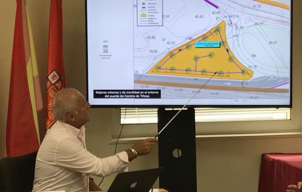 Una decena de medidas mejorará la calidad urbana y la accesibilidad del entorno del Camino de Tiñosa