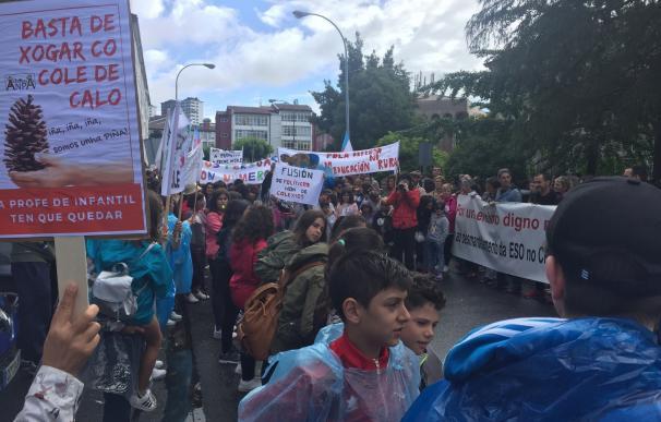 El TSXG desestima la petición de las familias y el Ayuntamiento para suspender la reorganización de centros en As Pontes