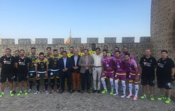 """Reyes destaca la promoción """"impagable"""" que el Jaén Paraíso Interior Fútbol Sala realiza a la provincia"""