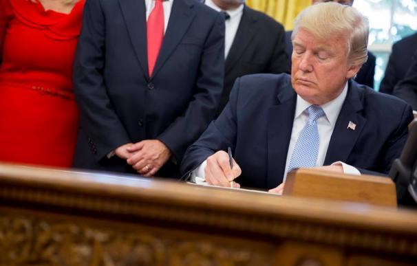 El presidente estadounidense, Donald Trump (EFE/Shawn Thew)